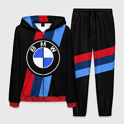 Костюм мужской BMW M: Black Sport цвета 3D-красный — фото 1