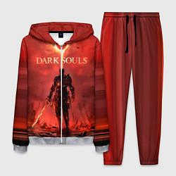 Костюм мужской Dark Souls: Red Sunrise цвета 3D-меланж — фото 1