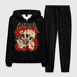 Костюм мужской Metallica Skull цвета 3D-черный — фото 1