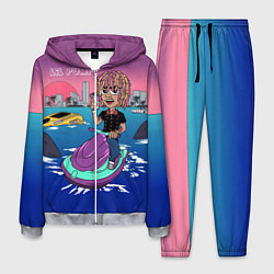 Костюм мужской Lil Pump on the water цвета 3D-меланж — фото 1