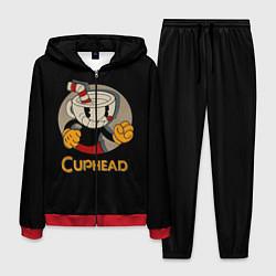 Костюм мужской Cuphead: Mugman цвета 3D-красный — фото 1