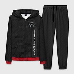 Костюм мужской Mercedes AMG: Sport Line цвета 3D-красный — фото 1