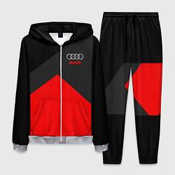 Костюм мужской Audi: Red Sport цвета 3D-меланж — фото 1
