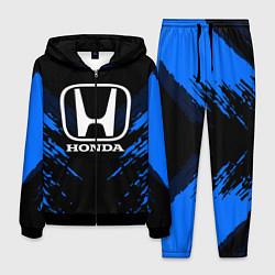 Костюм мужской Honda: Blue Anger цвета 3D-черный — фото 1