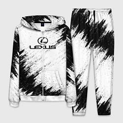 Костюм мужской Lexus: Black Breaks цвета 3D-белый — фото 1