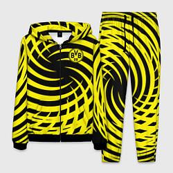 Костюм мужской FC BVB: Yellow Vortex цвета 3D-черный — фото 1