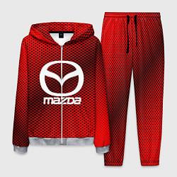 Костюм мужской Mazda: Red Carbon цвета 3D-меланж — фото 1