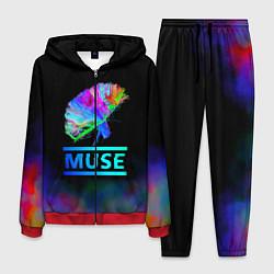 Костюм мужской Muse: Neon Flower цвета 3D-красный — фото 1
