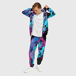 Костюм мужской 30 STM: Neon Colours цвета 3D-черный — фото 2