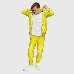 Костюм мужской Сборная Швеции: Домашняя ЧМ-2018 цвета 3D-меланж — фото 2