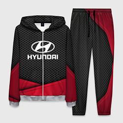 Костюм мужской Hyundai: Grey Carbon цвета 3D-меланж — фото 1