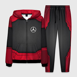 Костюм мужской Mercedes Benz: Metal Sport цвета 3D-черный — фото 1
