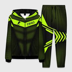 Костюм мужской CS:GO Carbon Form цвета 3D-черный — фото 1