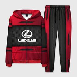 Костюм мужской Lexus Sport цвета 3D-красный — фото 1
