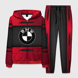 Костюм мужской BMW: Red Sport цвета 3D-красный — фото 1
