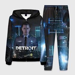 Костюм мужской Detroit: Connor цвета 3D-черный — фото 1