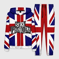 Костюм мужской Sex Pistols UK цвета 3D-белый — фото 1