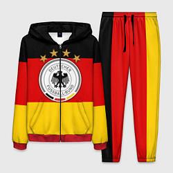 Костюм мужской Немецкий футбол цвета 3D-красный — фото 1