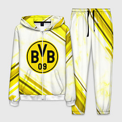 Костюм мужской Borussia цвета 3D-белый — фото 1