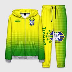 Костюм мужской CBF Brasil цвета 3D-меланж — фото 1
