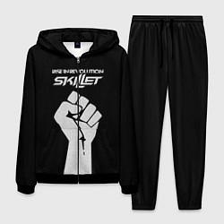 Костюм мужской Skillet: Rise in revolution цвета 3D-черный — фото 1