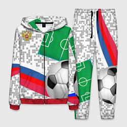 Костюм мужской Русский футбол цвета 3D-красный — фото 1