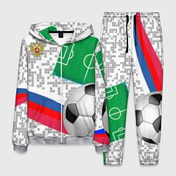 Костюм мужской Русский футбол цвета 3D-меланж — фото 1