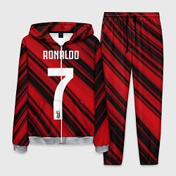 Костюм мужской Ronaldo 7: Red Sport цвета 3D-меланж — фото 1