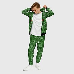 Костюм мужской E=mc2: Green Style цвета 3D-черный — фото 2