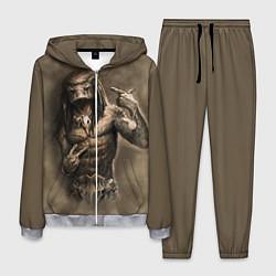 Костюм мужской Rap Predator цвета 3D-меланж — фото 1