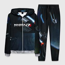 Костюм мужской Mass Effect N7 цвета 3D-меланж — фото 1