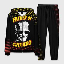 Костюм мужской Stan Lee: Father of Superhero цвета 3D-черный — фото 1