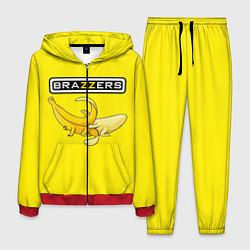 Костюм мужской Brazzers: Yellow Banana цвета 3D-красный — фото 1