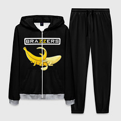 Костюм мужской Brazzers: Black Banana цвета 3D-меланж — фото 1