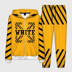 Костюм мужской Off-White: Yellow Style цвета 3D-белый — фото 1