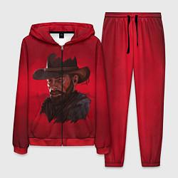 Костюм мужской Red Dead Redemption цвета 3D-красный — фото 1