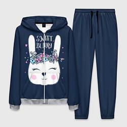 Костюм мужской Sweet Bunny цвета 3D-меланж — фото 1