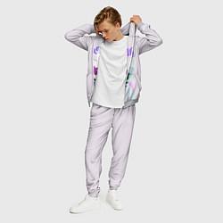 Костюм мужской Marshmello: New DJ цвета 3D-меланж — фото 2