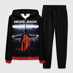 Костюм мужской Nickelback: Feed the Machine цвета 3D-красный — фото 1