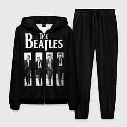 Костюм мужской The Beatles: Black Side цвета 3D-черный — фото 1