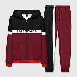 Костюм мужской Balenciaga: Black & Red цвета 3D-красный — фото 1