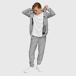Костюм мужской ASAP Rocky: Grey Fashion цвета 3D-меланж — фото 2