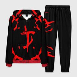 Костюм мужской DOOM: Red Slayer цвета 3D-красный — фото 1