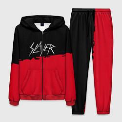 Костюм мужской Slayer: Black & Red цвета 3D-красный — фото 1