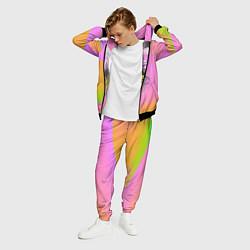 Костюм мужской Billie Eilish: Pink Fashion цвета 3D-черный — фото 2
