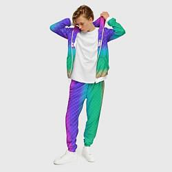 Костюм мужской Rainbow Twitch цвета 3D-белый — фото 2