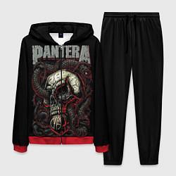 Костюм мужской Pantera цвета 3D-красный — фото 1