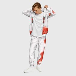 Костюм мужской Bon Jovi цвета 3D-белый — фото 2