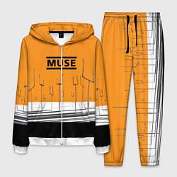 Костюм мужской Muse: Orange Mood цвета 3D-белый — фото 1