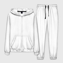 Костюм мужской Без дизайна цвета 3D-белый — фото 1